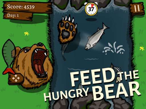 Feed the hungry bear